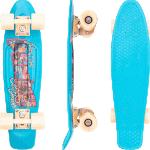 "Penny Postcard 22"" Coastal Blue Cruiser Skateboard"