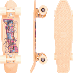"Penny Postcard 22"" Peach Cruiser Skateboard"