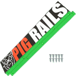 Pig Green Skateboard Rails