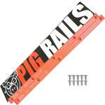 Pig Orange Skateboard Rails