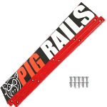 Pig Skateboard Rails Red
