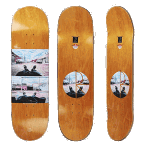 """Polar Klez Zawisza Happy Sad 8.625"""" Skateboard"""