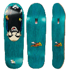 "Polar Nick Boserio Upside Down 9.75"" Skateboard Deck"