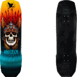 "Powell Peralta Flight Pro Anderson Heron 9.13"" Skateboard Deck"