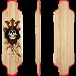 Powell Peralta Kevin Reimer Samurai Pro Longboard Skateboard
