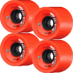 Powell Peralta Kevin Reimer 75mm 80a Orange Longboard Wheels