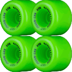 Powell Peralta Rat Bones 60mm 90a Green Skateboard Wheels