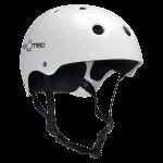 Pro-Tec Classic Skate Gloss White Skate Helmet