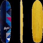 "Rayne Anthem Geographic 36"" Longboard Deck"