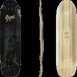 "Rayne Darkside V3 Skull Blue 36"" Longboard Deck"