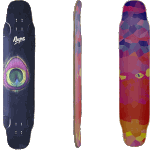 "Rayne Whip 44"" Freestyle Dancer Longboard Deck"