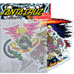 Santa Cruz OG Sticker 4 Pack