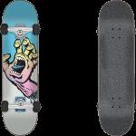 "Santa Cruz Pastel Screaming Hand 8"" Skateboard Complete"