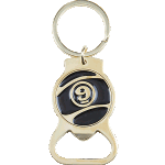 Sector 9 Niner Gold Keychain