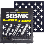 Seismic Lokton Ninja Star Big Rock Longboard Griptape Pack