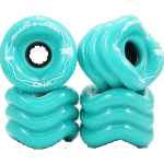 Shark DNA 72mm 78a Turquoise Longboard Wheels