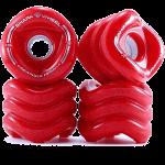 Shark Sidewinder 70mm 78a Red Longboard Wheels