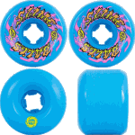 Slime Balls Gooberz 60mm 97a Blue Skateboard Wheels