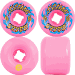 Slime Balls Gooberz 60mm 97a Pink Skateboard Wheels