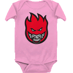 Spitfire Baby Paci-Fire Pink Infant Onesie