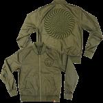 Spitfire Bomber Classic Swirl Jacket Army