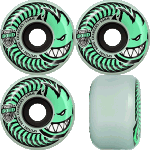 Spitfire Charger Conical 54mm Stay Lit Glow 80a Skateboard Wheels