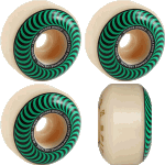 Spitfire F4 Classic 52mm Swirl 99a Skateboard Wheels