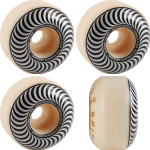 Spitfire F4 Classic 54mm Swirl 99a Skateboard Wheels