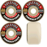 Spitfire F4 Conical Full 54mm 101a Skateboard Wheels