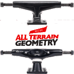 "Tensor MAGLight ATG 5"" Black Skateboard Trucks"