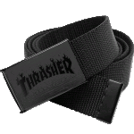 Thrasher Flame Logo Web Belt Black
