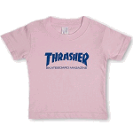 Thrasher Skate Mag Infant Tee Pink Blue