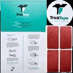 TrickTape Skate Shoe Tape 4pk Maroon