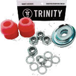 Trinity Truck Repair Kit Red 90a Bushings Nuts & Washers Pack