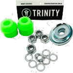 Trinity Truck Repair Kit Green 96a Bushings Nuts & Washers Pack