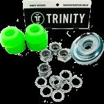 Trinity Truck Repair Kit Green 96a Bushings Nuts & Washers Pack