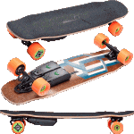 Unlimited x Loaded Cruiser Tesseract Complete Electric Skateboard