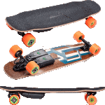 Unlimited x Loaded Race Tesseract Complete Electric Skateboard