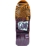 "Vision Gator II Modern Concave Orange Purple Stain 10.25"" Skateboard"