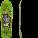 """Vision Groholski Skeleton Lime Stain 10.25"""" Reissue Skateboard Deck"""